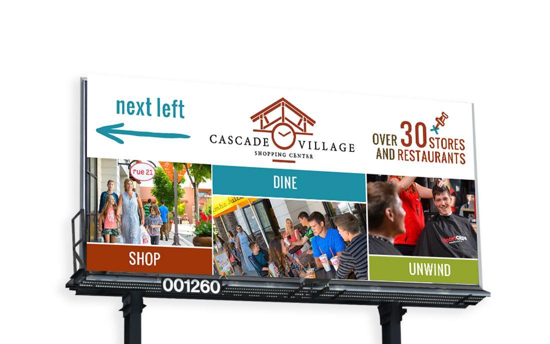 billboard-design-Cascade-Village