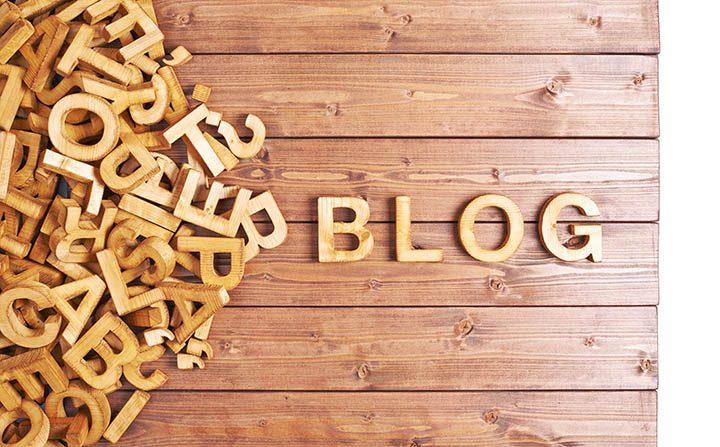 Publish regular blog content