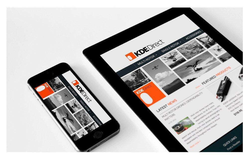 KDE-website-design