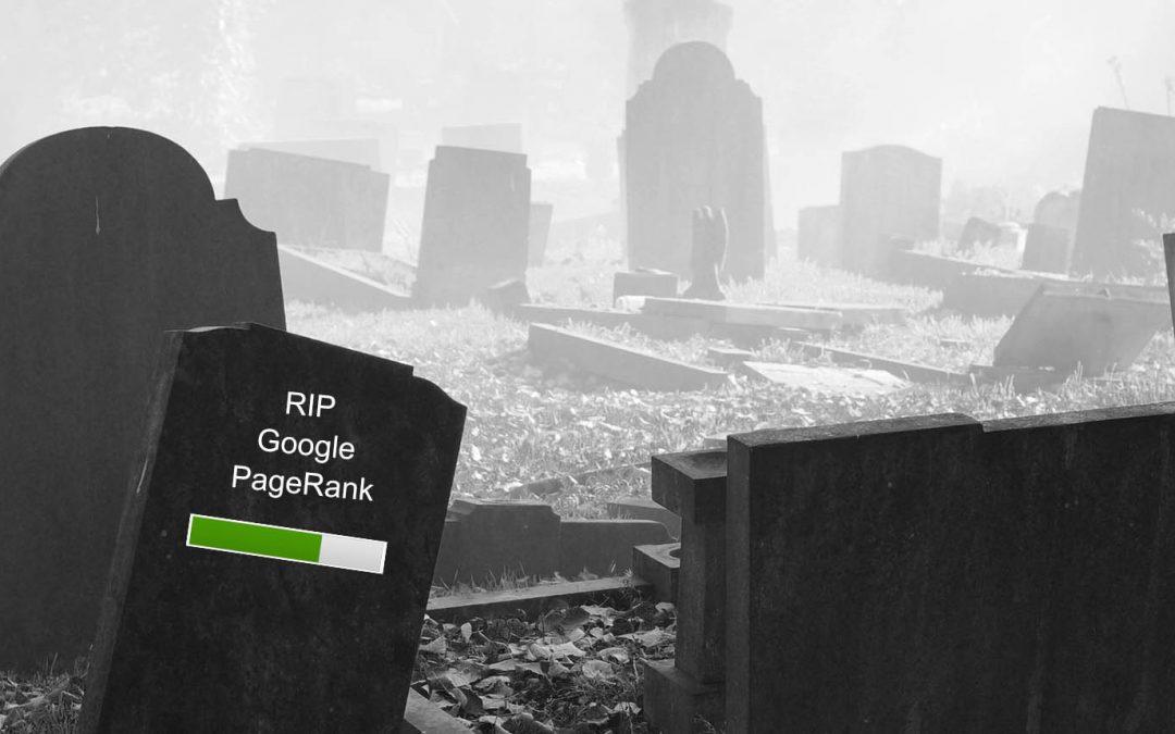 RIP Google PageRank dies