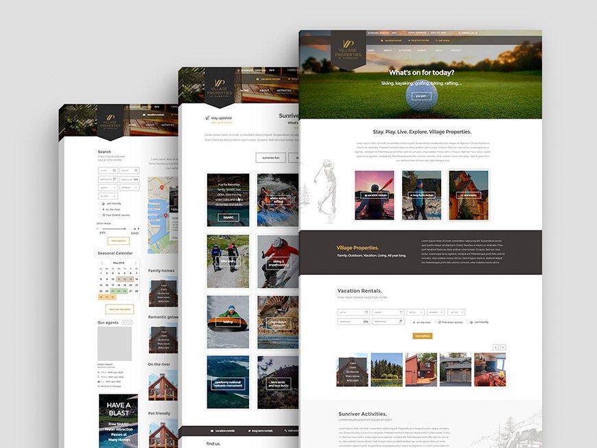 Village-Properties-website-design