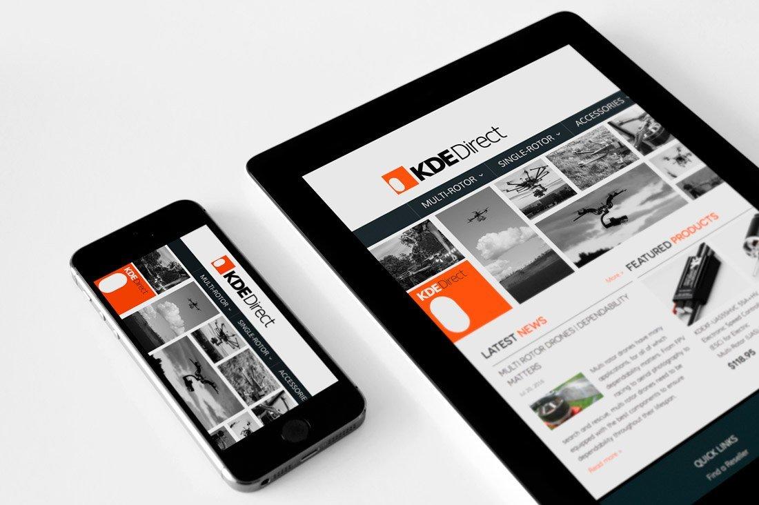 KDE-website-design-developement