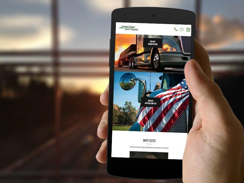 COTC-web-design