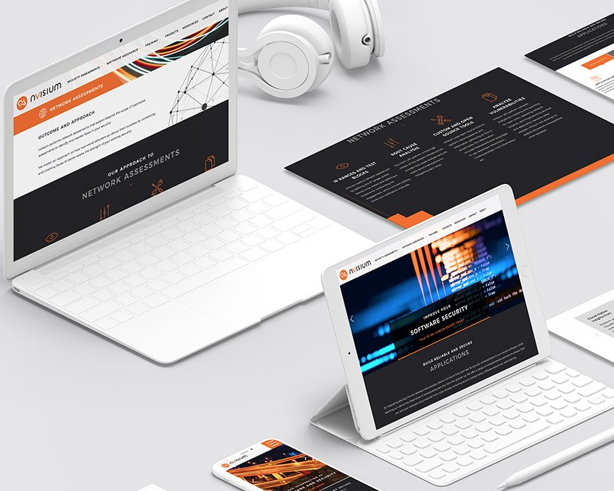 nVisium software web design