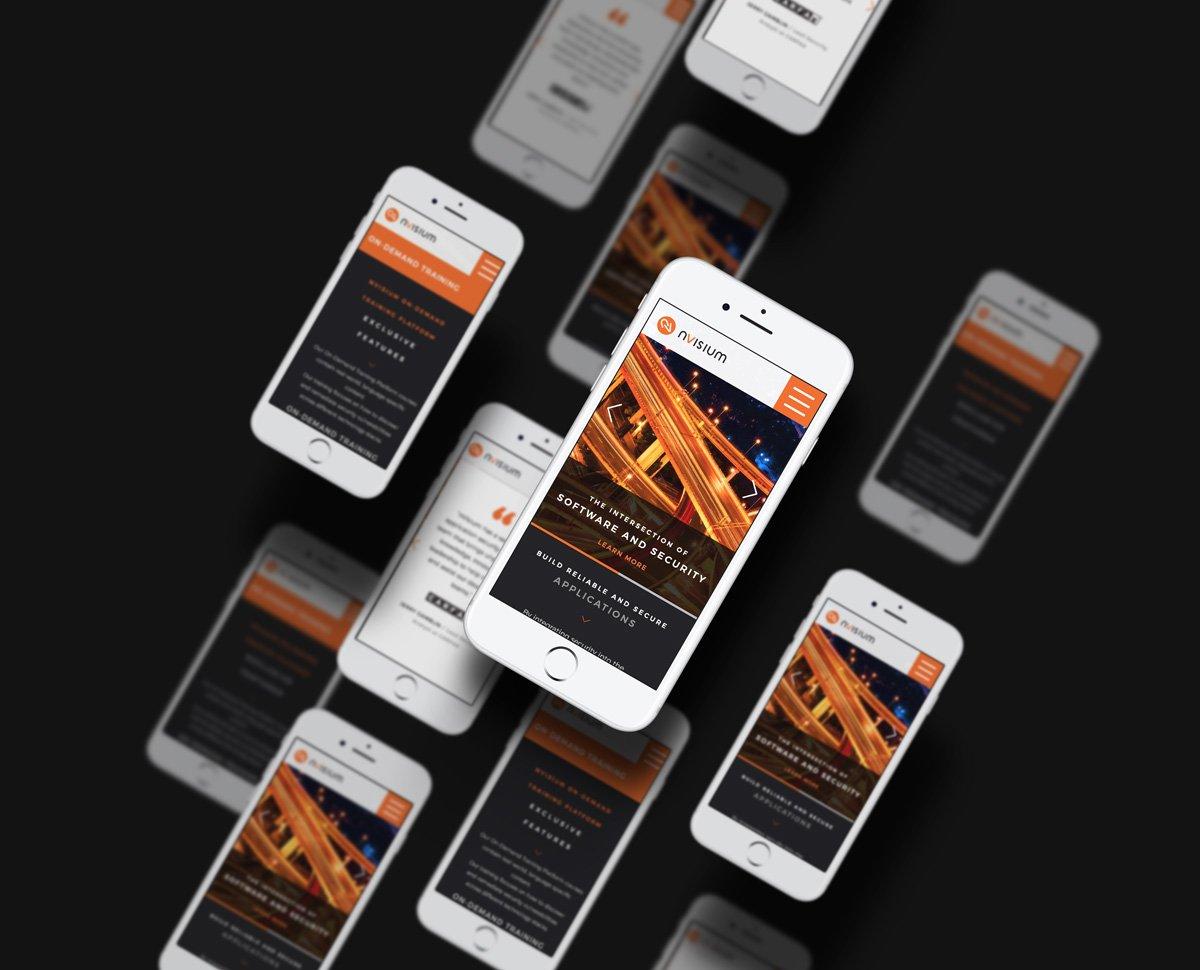 nVisium web design development