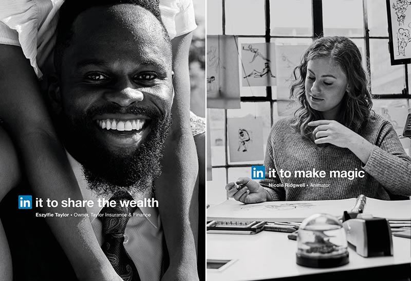 integrated marketing campaign linkedin