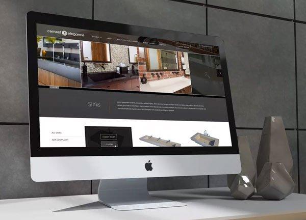 Cement Elegance web design