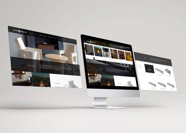 Cement Elegance website development