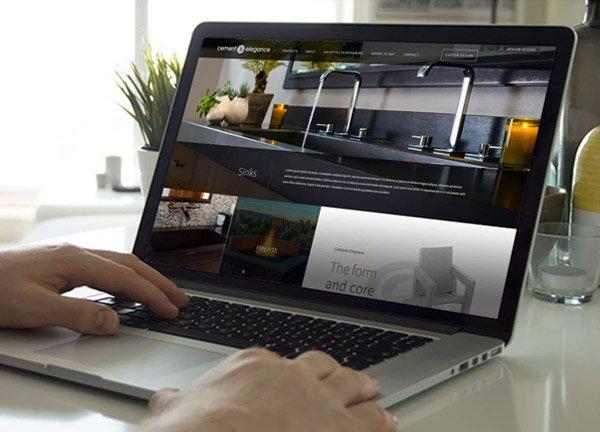 Cement Elegance website
