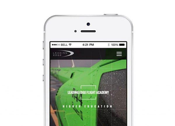 Leading Edge mobile design