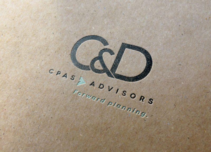 c&D logo design