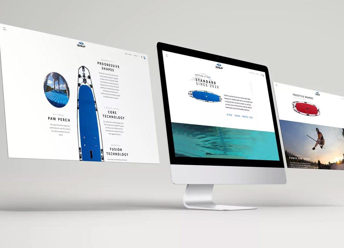 jd sup web design