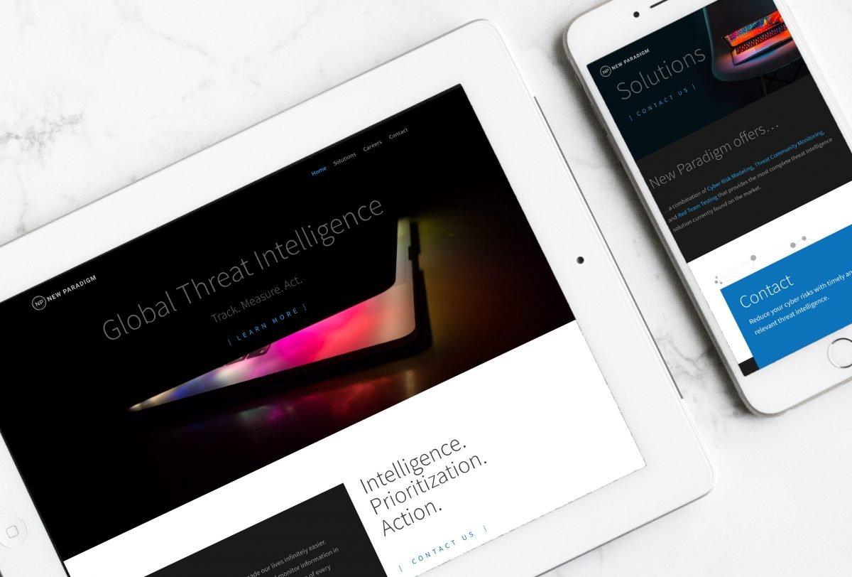 new paradigm web design
