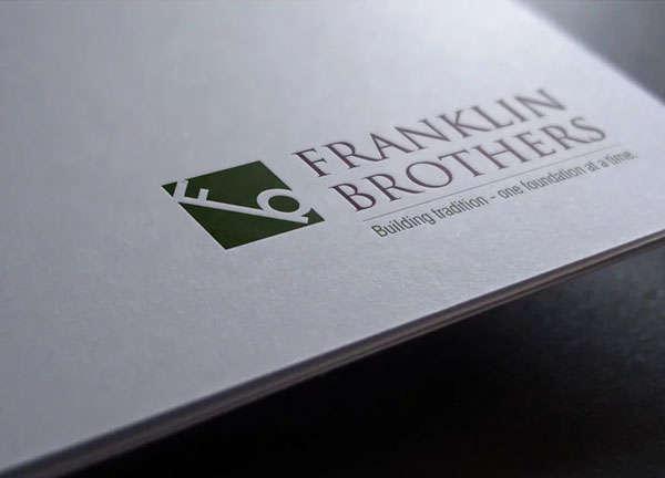 franklin brothers logo design