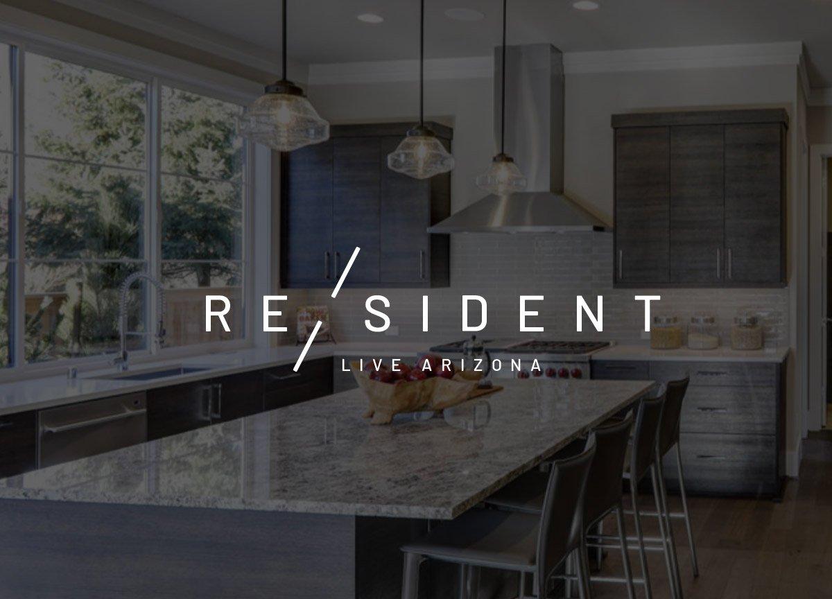 Resident logo design