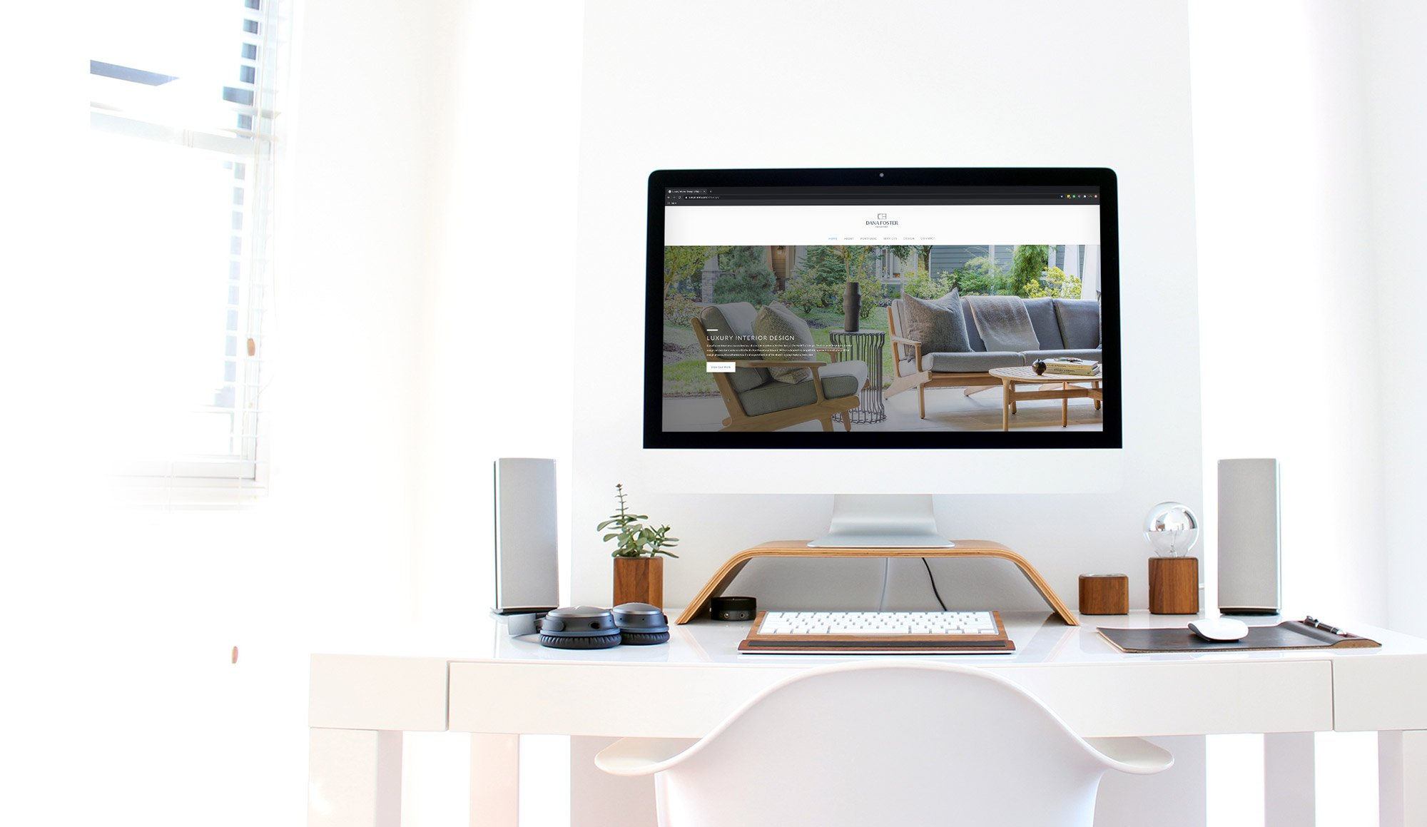 web design, dana foster