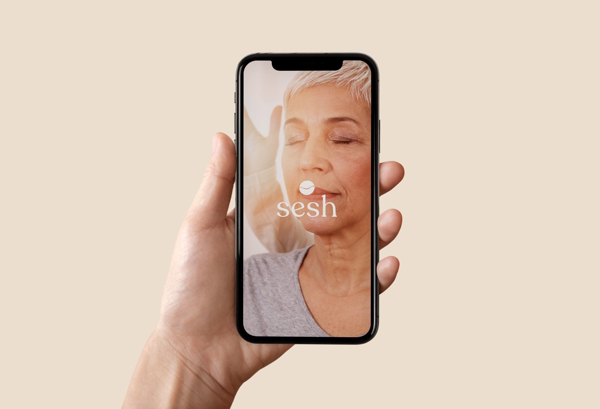 sesh landing iphone