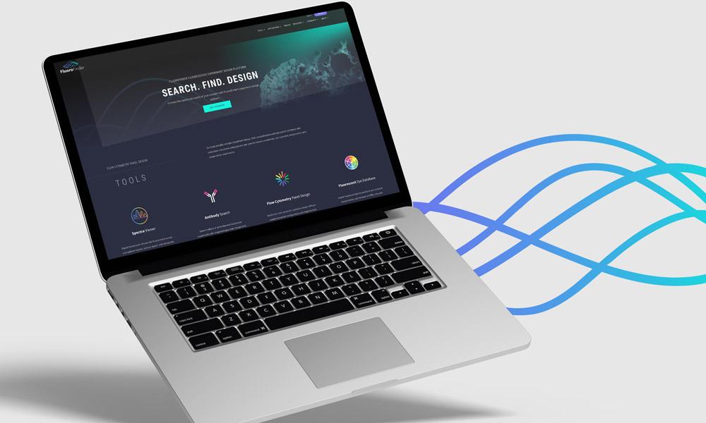 Fluorofinder Web Design